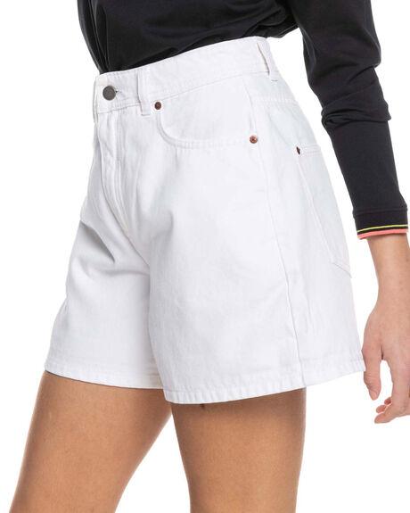 OFF WHITE WOMENS CLOTHING ROXY SHORTS - ERJDS03271-WBWW