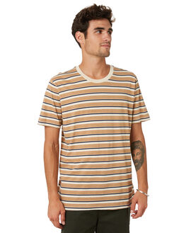 MARINE CANYON STRIPE MENS CLOTHING OUTERKNOWN TEES - 1210064MCS