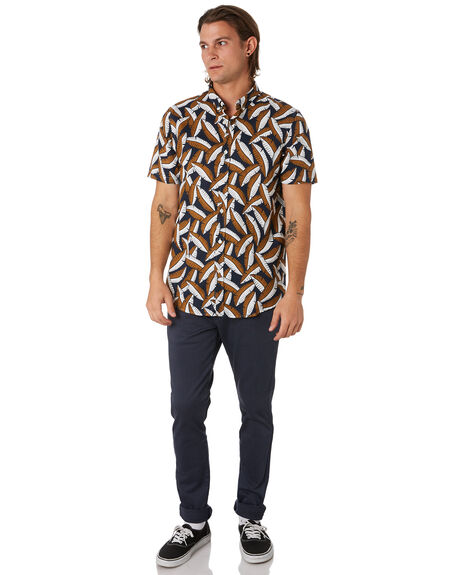 NAVY OAT MENS CLOTHING ACADEMY BRAND SHIRTS - 20S849NVYOT