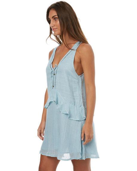 AQUA MARINE WOMENS CLOTHING TIGERLILY DRESSES - T372440AQUA