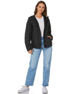 BLACK WOMENS CLOTHING SWELL JACKETS - S8194381BLACK