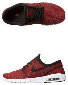 TRACK RED MANDARIN MENS FOOTWEAR NIKE SKATE SHOES - 631303-606