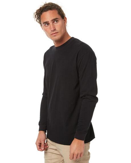 BLACK MENS CLOTHING ZANEROBE TEES - 140-TDKBLK
