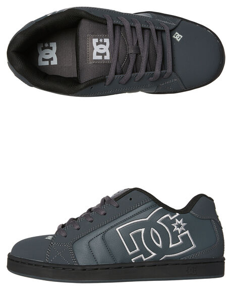 GREY MENS FOOTWEAR DC SHOES SKATE SHOES - 302361SGT0