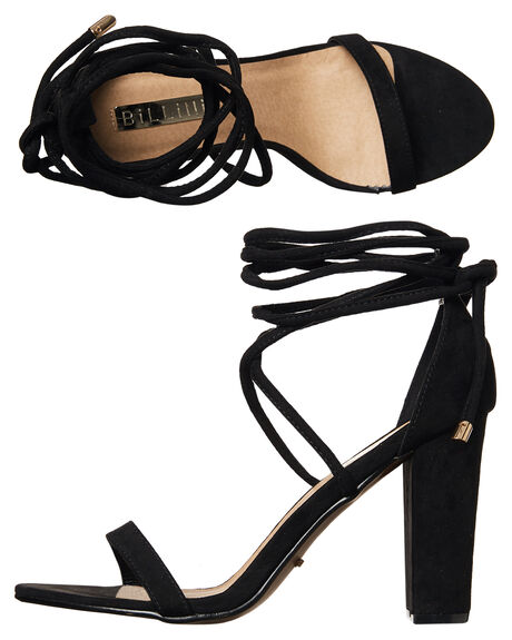 BLACK WOMENS FOOTWEAR BILLINI HEELS - H852BLK
