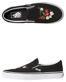 BLACK WOMENS FOOTWEAR VANS SNEAKERS - SSVNA38F7I5ZBLKW