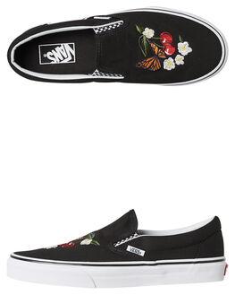 BLACK WOMENS FOOTWEAR VANS SNEAKERS - SSVNA38F7I5ZBLKW