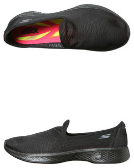 BLACK WOMENS FOOTWEAR SKECHERS SNEAKERS - 14906BBK