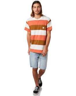 RUST COMBO MENS CLOTHING DEUS EX MACHINA TEES - DMS81651RUST