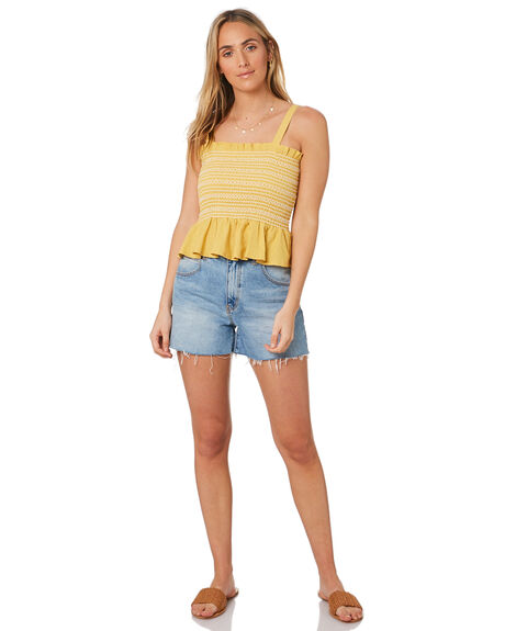 MUSTARD OUTLET WOMENS ELWOOD FASHION TOPS - W93306398