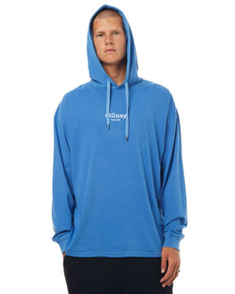 ROYAL BLUE MENS CLOTHING STUSSY JUMPERS - ST071111RBLU