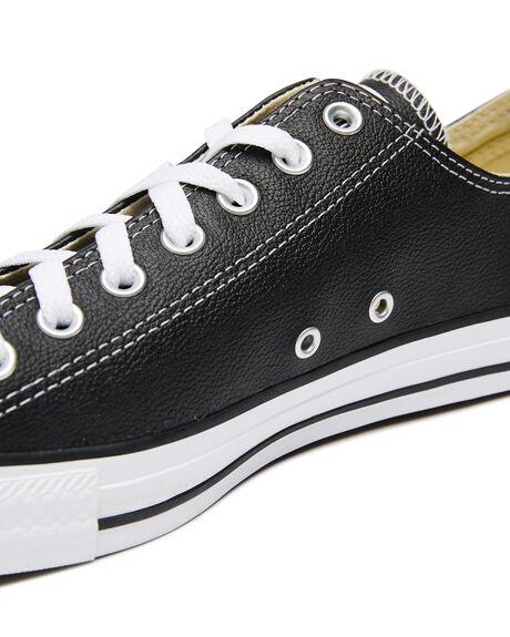 BLACK WOMENS FOOTWEAR CONVERSE SNEAKERS - SS132174BLKW