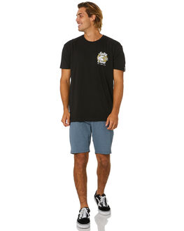 BLACK MENS CLOTHING SALTY CREW TEES - 20035229BLK