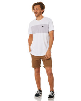 WHITE MENS CLOTHING BILLABONG TEES - 9582002WHT
