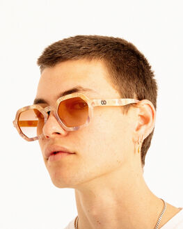 MARBLE STONE ROSE MENS ACCESSORIES CHILDE SUNGLASSES - CLD-G0112532MARST