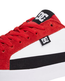 RED/BLACK/WHITE KIDS BOYS DC SHOES SNEAKERS - ADBS300337-XRKW