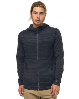 BLACK MENS CLOTHING QUIKSILVER JUMPERS - EQYSW03206KVJ0