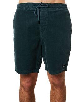 NAVY GREEN MENS CLOTHING VOLCOM SHORTS - A1031801NVG