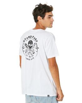 WHITE MENS CLOTHING SEA SHEPHERD TEES - SSA1000WHT