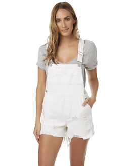 WHITEWALKER WOMENS CLOTHING RES DENIM PLAYSUITS + OVERALLS - RW0550WHI