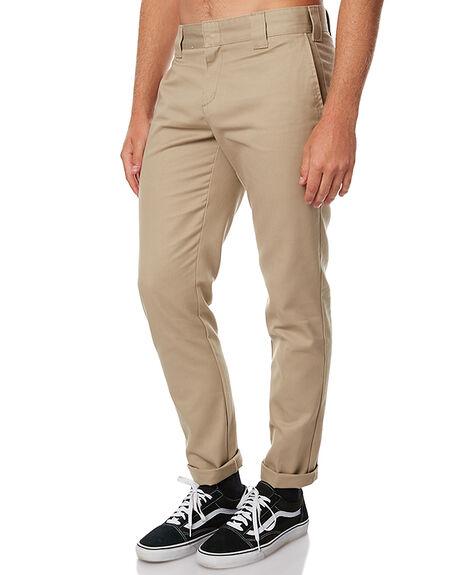 KHAKI MENS CLOTHING DICKIES PANTS - WE872KHA