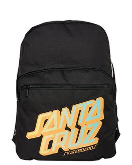 BLACK KIDS BOYS SANTA CRUZ BAGS + BACKPACKS - SC-YAC9259BLK