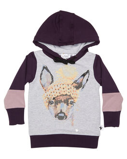 PLUM KIDS TODDLER GIRLS KISSED BY RADICOOL JUMPERS - KR0714PLM