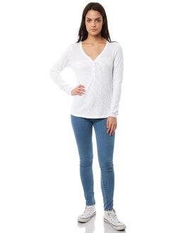 WHITE WOMENS CLOTHING ELEMENT TEES - 286052WHT
