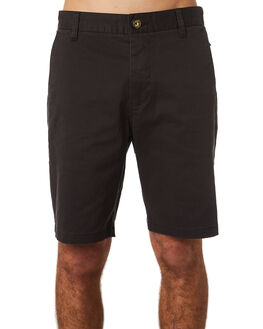 WASHED BLACK MENS CLOTHING RIP CURL SHORTS - CWALB18264