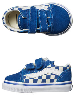 TRUE BLUE WHITE KIDS TODDLER BOYS VANS FOOTWEAR - VNA38JNPOUBLU