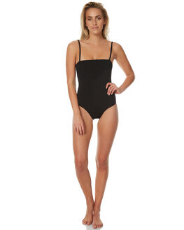 BLACK WOMENS SWIMWEAR AFENDS ONE PIECES - 50-08-042BLK