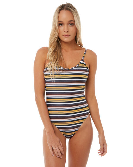 MULTI WOMENS SWIMWEAR AFENDS ONE PIECES - W181702MUL