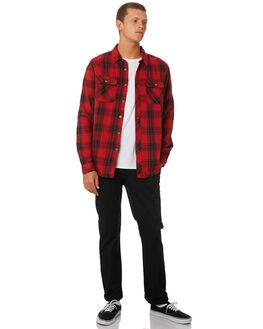 RED MENS CLOTHING BILLABONG SHIRTS - 9595220RED