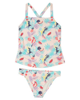 TROPICAL PARROTS KIDS TODDLER GIRLS ROXY SWIMWEAR - ERLX203049MDR6