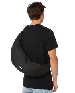 BLACK MENS ACCESSORIES STUSSY BAGS + BACKPACKS - ST797003BLK