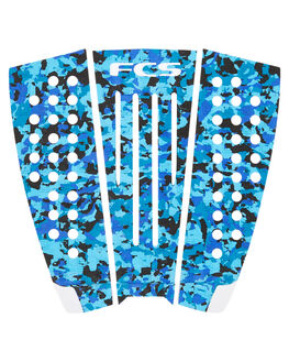 CAMO WHITE BOARDSPORTS SURF FCS TAILPADS - 27678CAMWT