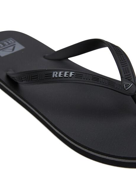 BLACK MENS FOOTWEAR REEF THONGS - CI2720BLA