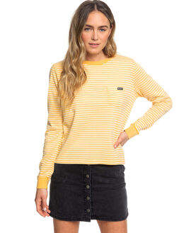 GOLDEN GLOW MARINA WOMENS CLOTHING ROXY TEES - ERJKT03557-XYYW