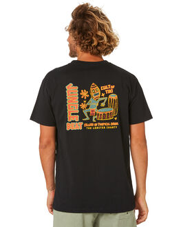 BLACK MENS CLOTHING THE LOBSTER SHANTY TEES - LBSJUNGLEBLK