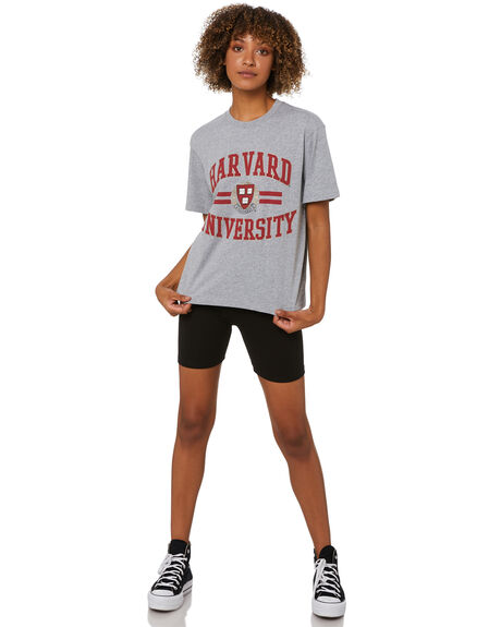 GREY MARLE WOMENS CLOTHING NCAA TEES - NCHU0029GRYML
