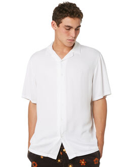 WHITE MENS CLOTHING AFENDS SHIRTS - M184200WHI
