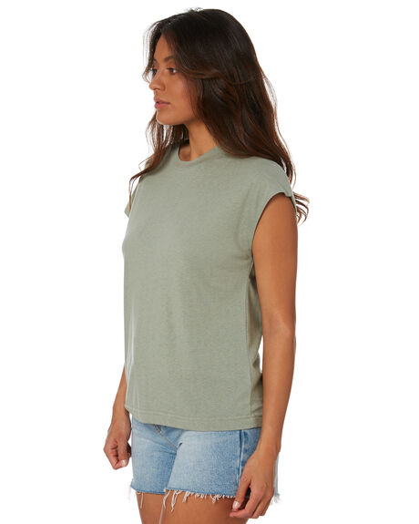 MINERAL GREEN WOMENS CLOTHING SWELL TEES - S8211003MINGN