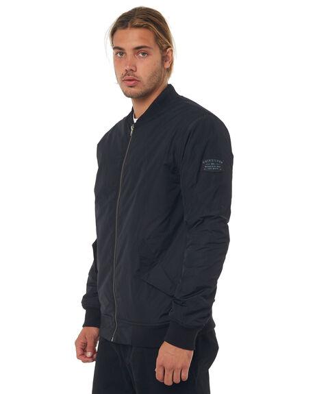 BLACK MENS CLOTHING QUIKSILVER JACKETS - EQYJK03381KVJ0