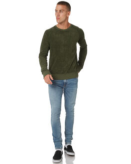 LAWN MENS CLOTHING NUDIE JEANS CO JUMPERS - 150342G30