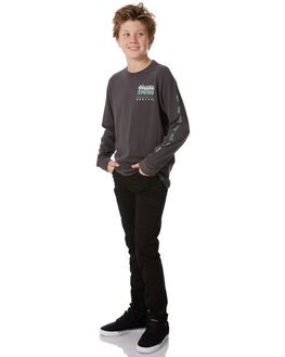 ANTHRACITE KIDS BOYS HURLEY TEES - ABAA5322060
