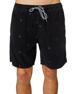 BLACK MENS CLOTHING TOWN AND COUNTRY SHORTS - TWA110BLK