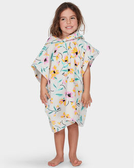 WHITE SWAN KIDS GIRLS BILLABONG TOWELS - 5695721WHS