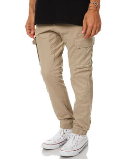 KHAKI MENS CLOTHING SWELL PANTS - S5162195KHA