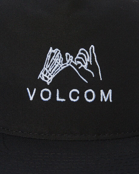 BLACK MENS ACCESSORIES VOLCOM HEADWEAR - D5541902BLK