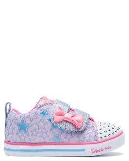 LAVENDER KIDS GIRLS SKECHERS FOOTWEAR - 314037NLVMT